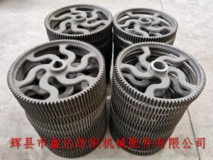 纺织齿轮(铣齿直齿轮)L13和过桥齿轮L10