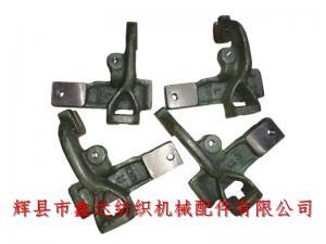 纺织铸铁件K201梭箱盖板托脚