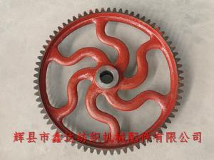 纺织欧宝体肓登录E2欧宝体育地址踏盘轴齿轮72牙纺织齿轮
